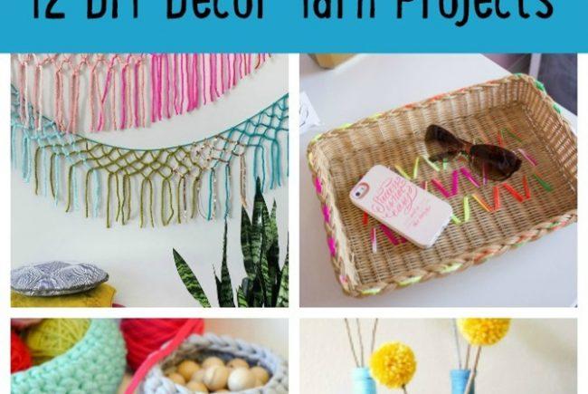 12 DIY Decor Yarn Projects