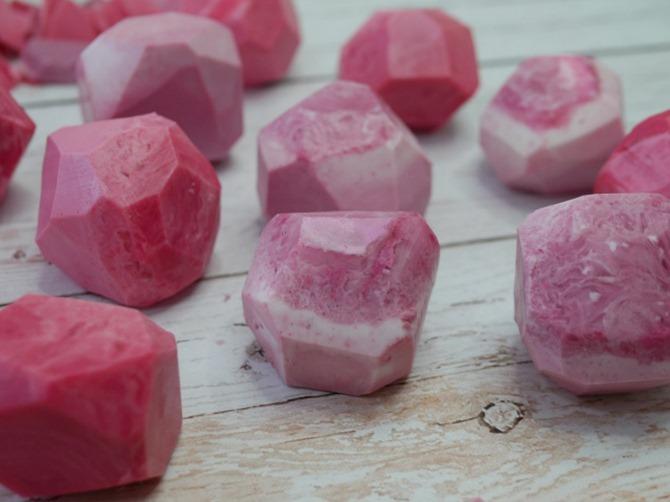 DIY Gemstone Soap - Easy Tutorial
