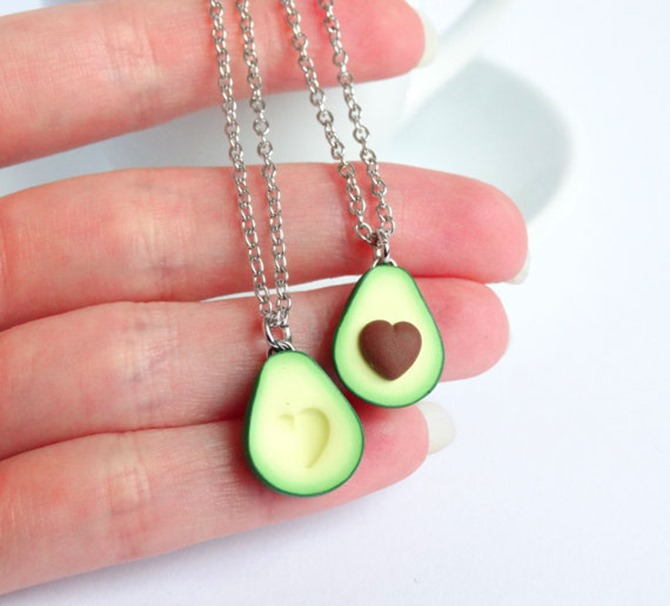 Handmade Jewelry on Etsy - Avocado Necklaces