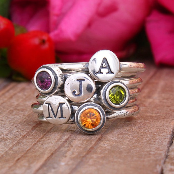 Handmade Jewelry on Etsy - Stacking Rings