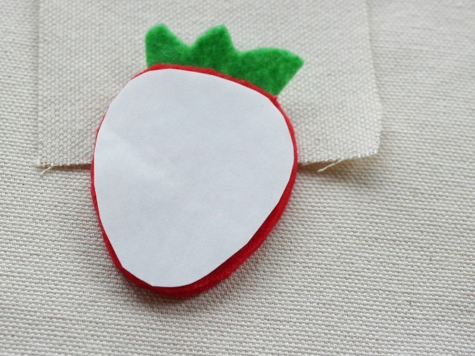 DIY - Felt Flair Strawberry