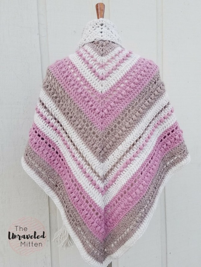 free crochet shawl pattern - simply sweet
