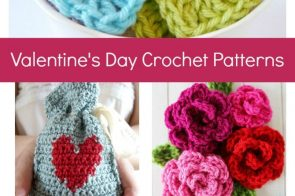 12 Free Crochet Patterns for Valentine's Day {Easy Projects}