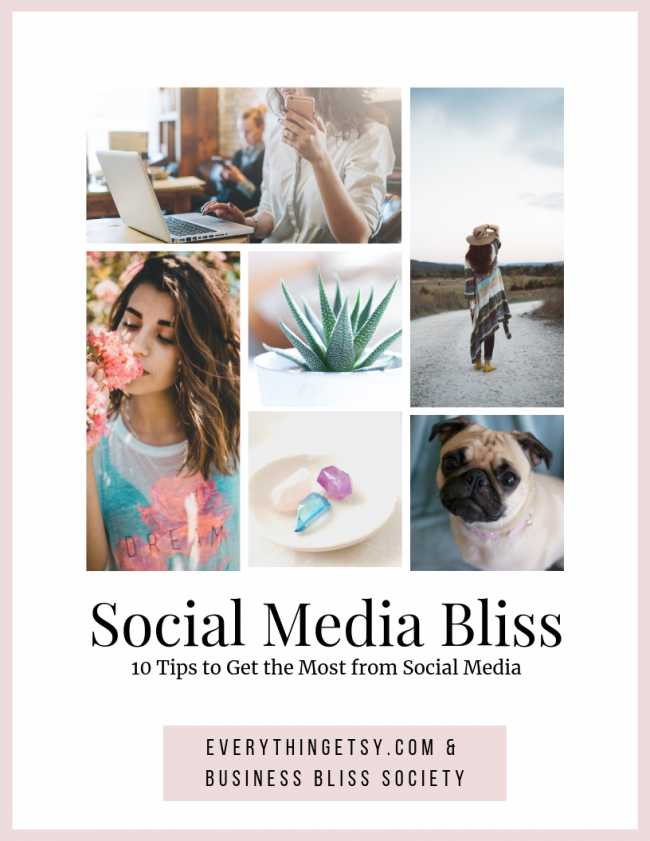 10 Social Media Tips and Ideas for Your Etsy shop