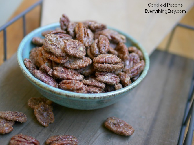 Candied Pecans Recipe on EverythingEtsy.com