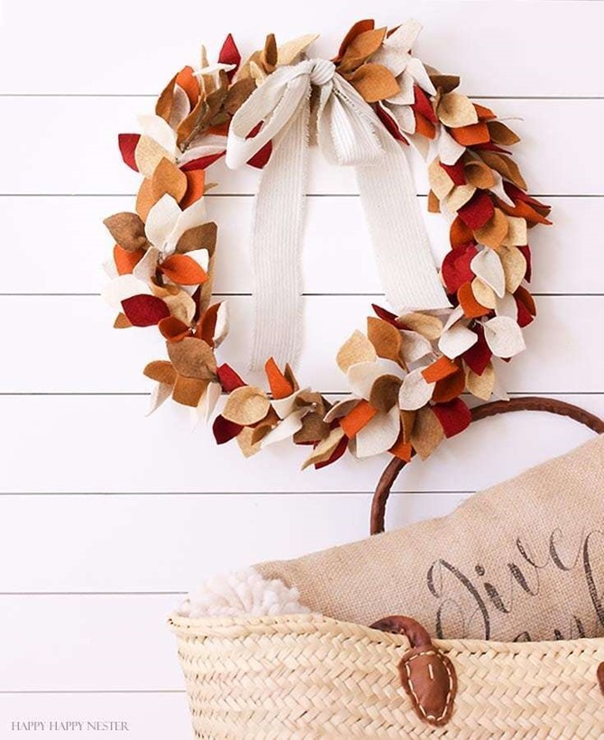 DIY Fall Decor for Your Front Porch - Happy Happy Nester
