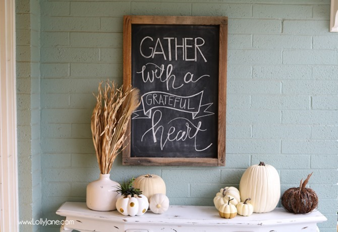 DIY Fall Decor for Your Front Porch - LollyJane