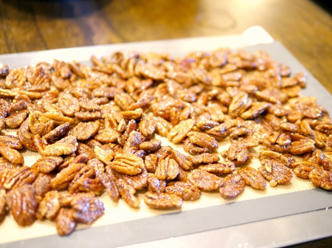 Making Candied Pecans on EverythingEtsy.com