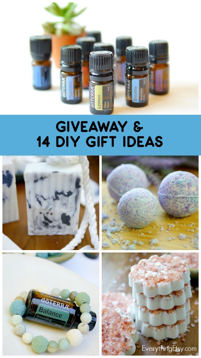 doTERRA Essential Oil Giveaway and 14 DIY Gift Ideas on EverythingEtsy.com