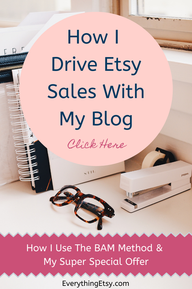 How I Drive Etsy Sales with my Blog - EverythingEtsy.com
