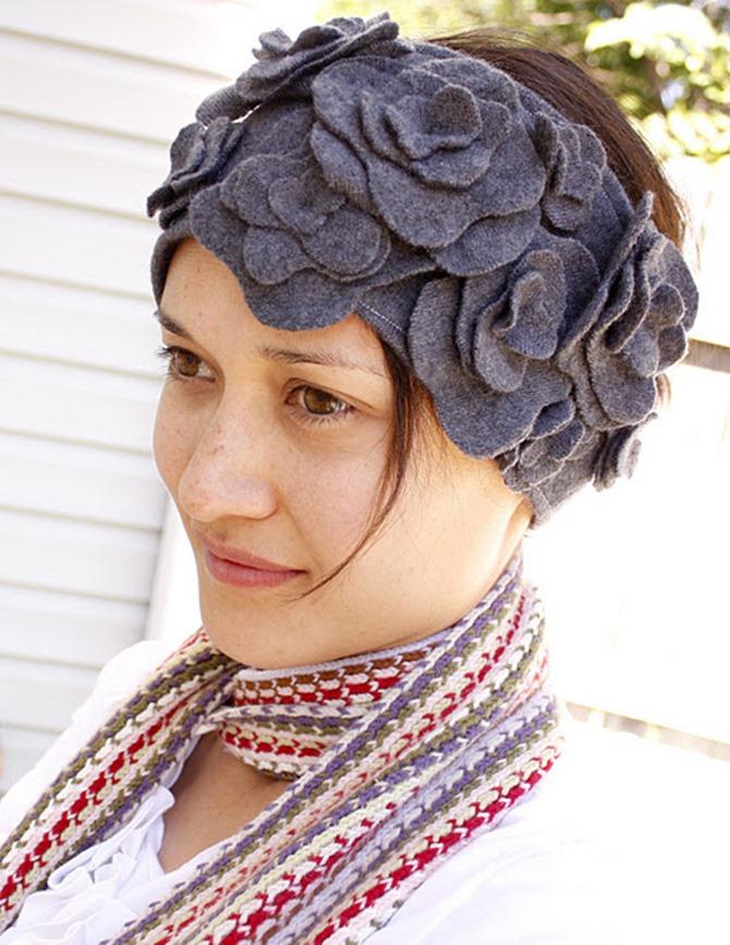 101 Fall Sewing Tutorials - EverythingEtsy.com - DIY Ear Warmers