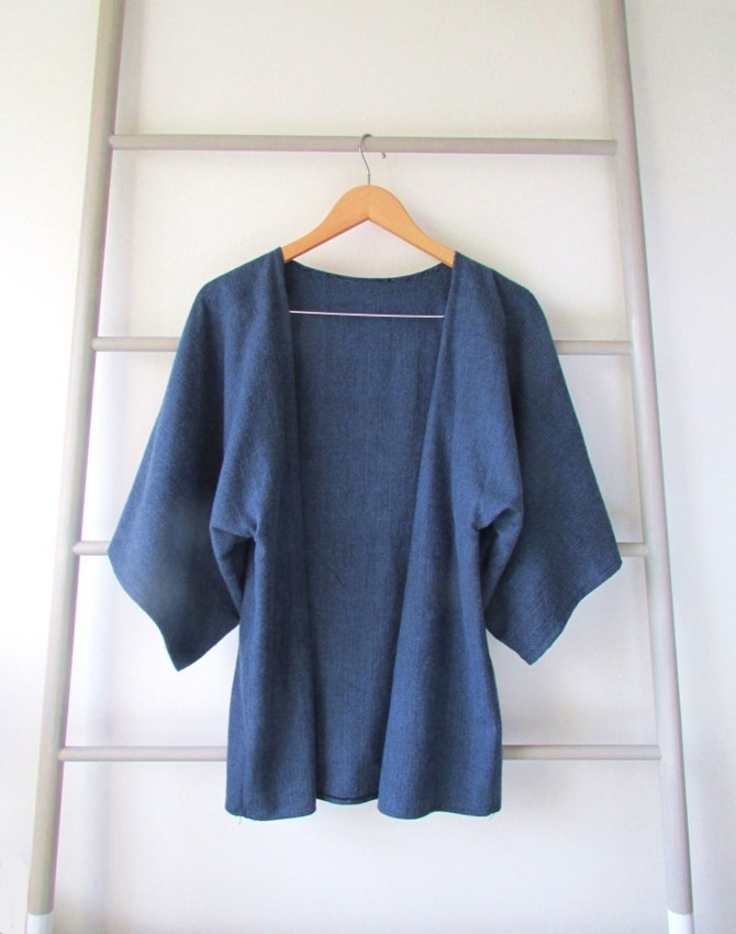 101 Fall Sewing Tutorials - EverythingEtsy.com - Handmade Kimono Pattern