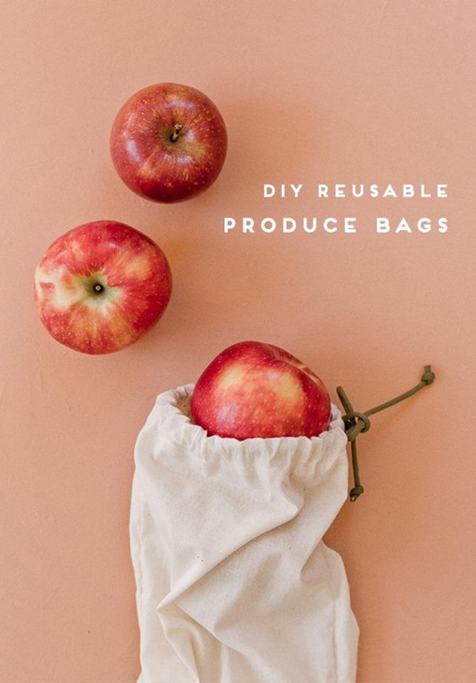 101 Fall Sewing Tutorials - EverythingEtsy.com - Reusable Produce Bag Tutorial