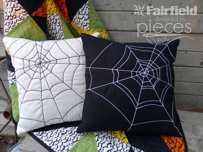 101 Fall Sewing Tutorials - EverythingEtsy.com - Spider Pillow
