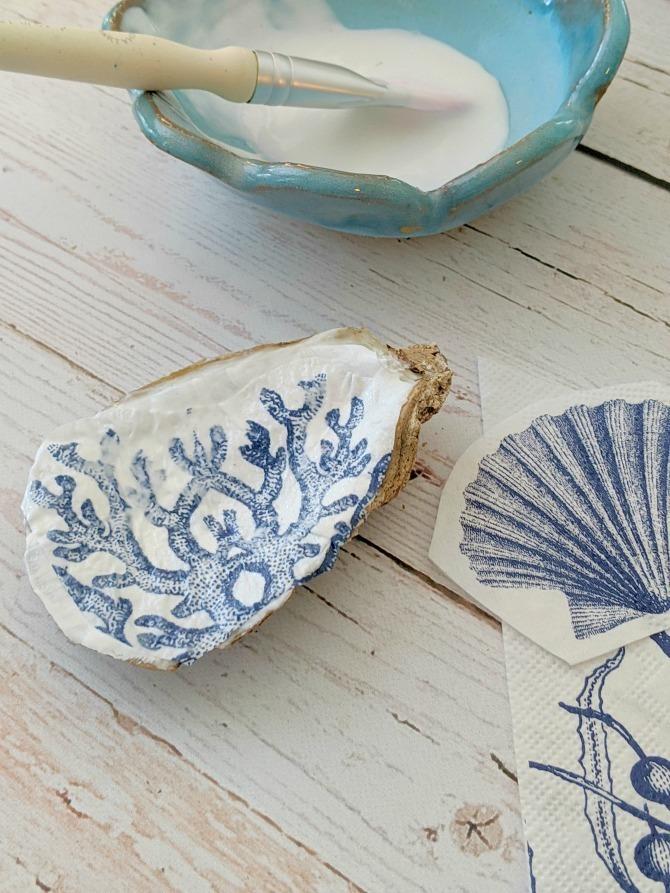 DIY Oyster Shell Trinket Dish - EverythingEtsy.com - Step 3