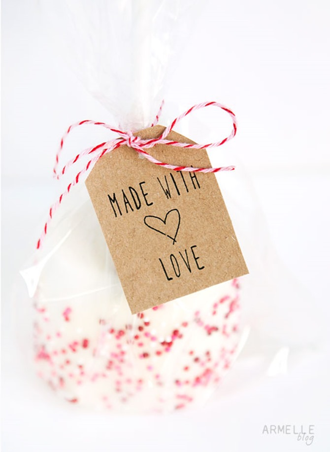 Free Printable Handmade Gift Tags - EverythingEtsy.com - Made with Love gift tag
