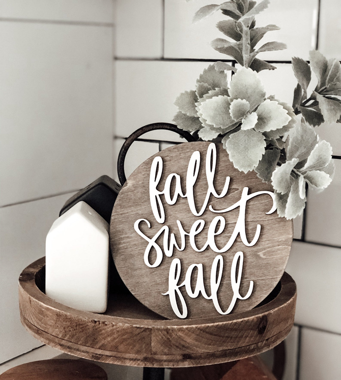 Fall Favorites Home Decor on Etsy - Fall Sweet Fall - EverythingEtsy