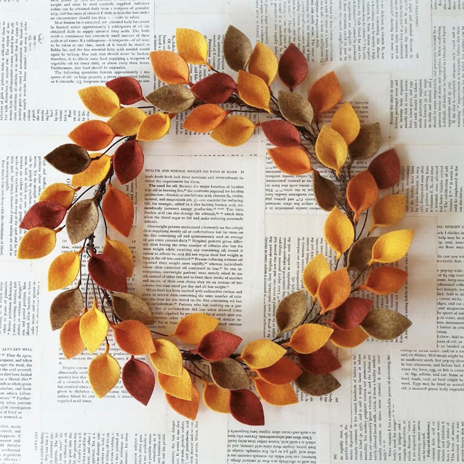 Fall Favorites Home Decor on Etsy - Fall Wreath - EverythingEtsy