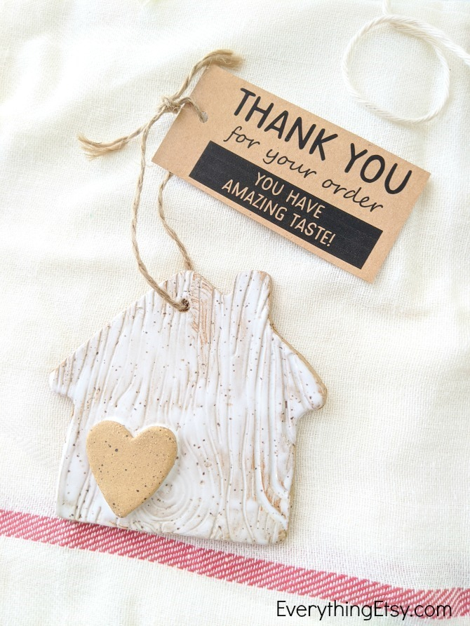 Thank You For Your Order Etsy Seller Free Printable Tag - EverythingEtsy.com
