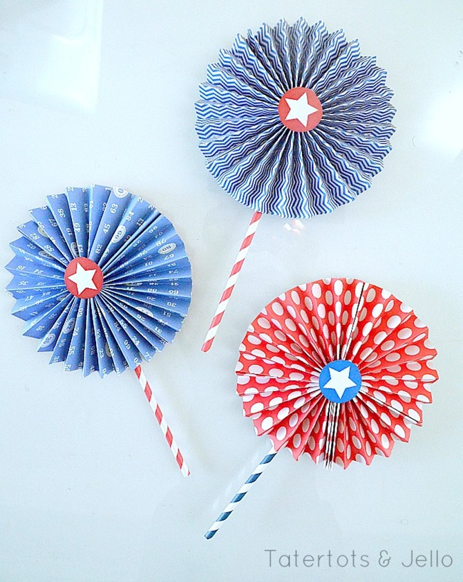 4th of July Party Printables - 12 Free Downloads - EverythingEtsy.com - Medallion Printables
