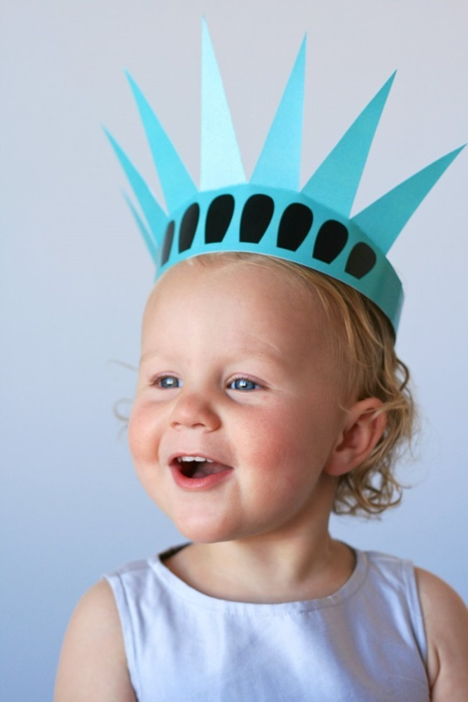 4th of July Party Printables - 12 Free Downloads - EverythingEtsy.com - Statue of Liberty Crown