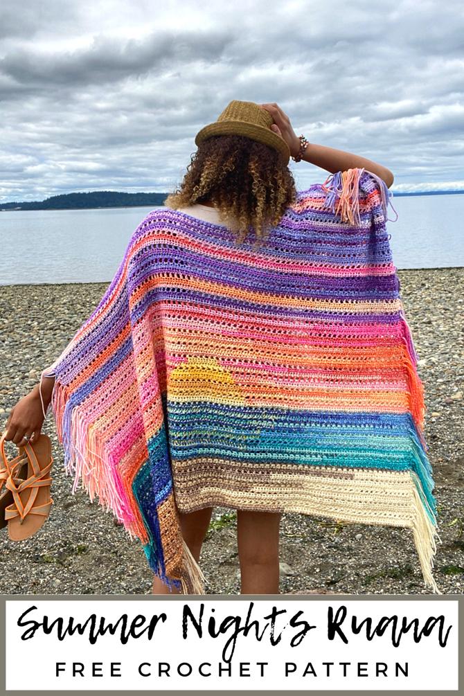 7 Free Summer Crochet Patterns - EverythingEtsy.com - Summer blanket