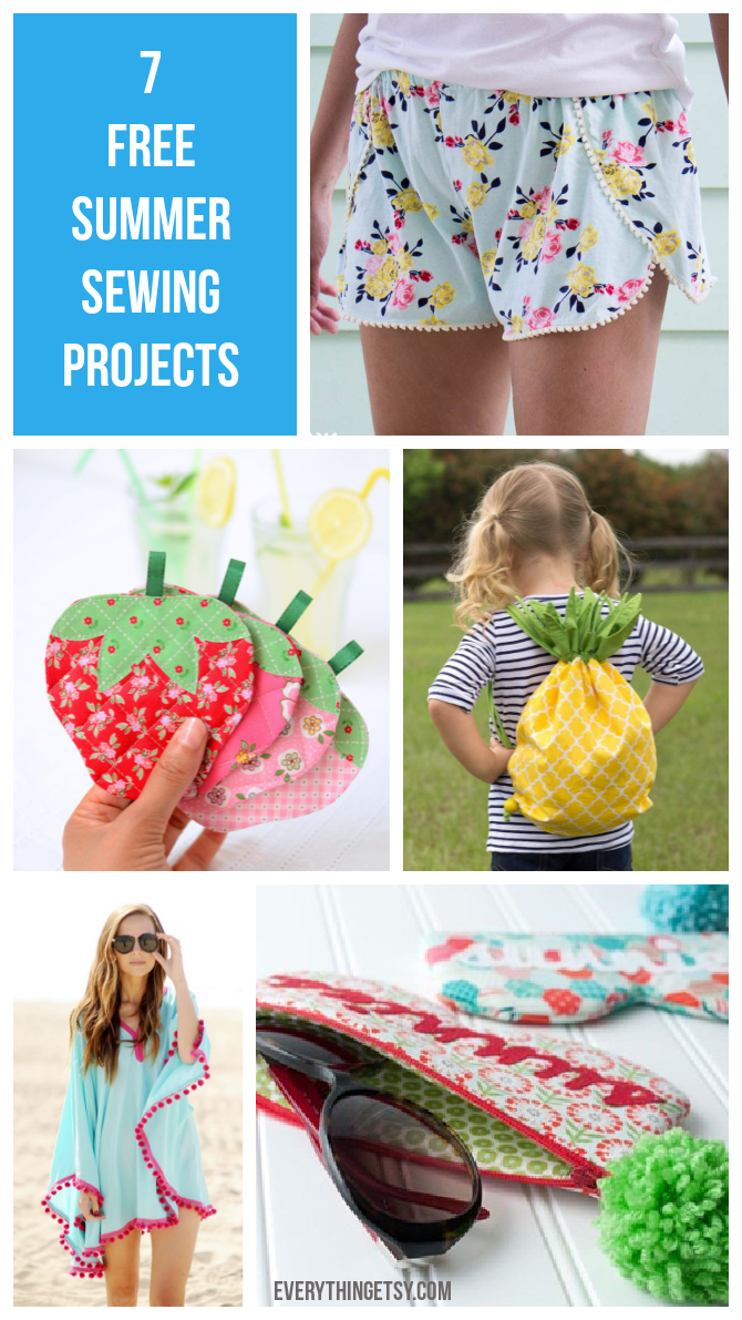 7 Free Summer Sewing Projects - EverythingEtsy.com