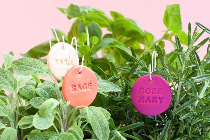 Herb Garden Plant Labels