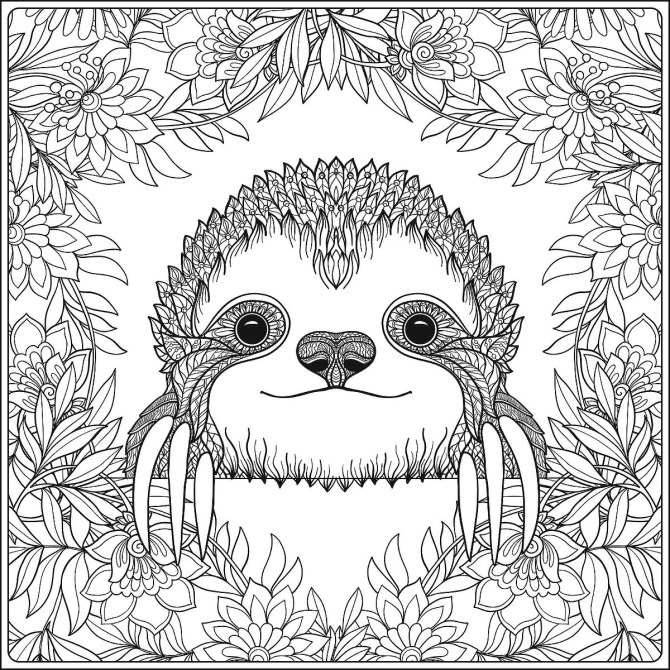 7 Free Cheerful Coloring Pages for