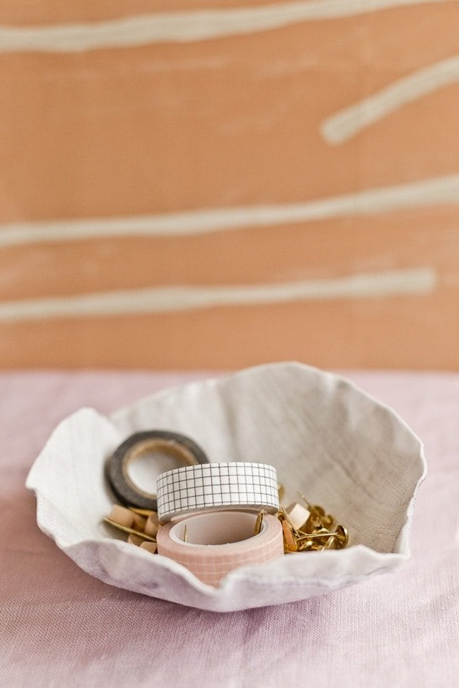 DIY Fabric Bowl by Papernstitch Blog