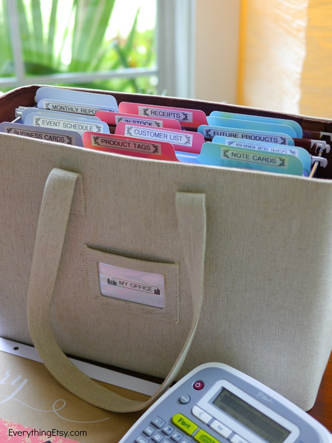 My Office-In-A-Box Organize Your Handmade Business on EverythingEtsy