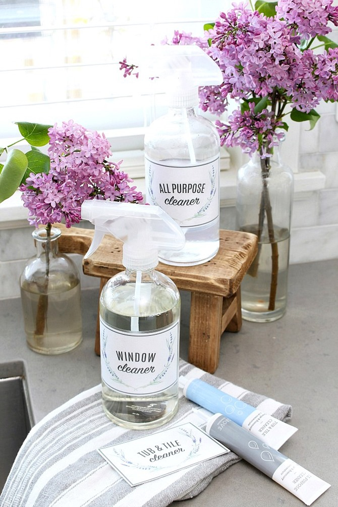 10 Free Printable Labels to Organize Your Home - Everything Etsy - Cleaning