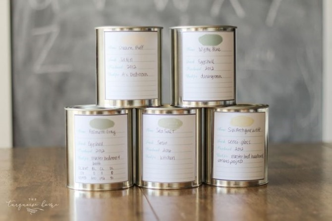 10 Free Printable Labels to Organize Your Home - Everything Etsy - Paint
