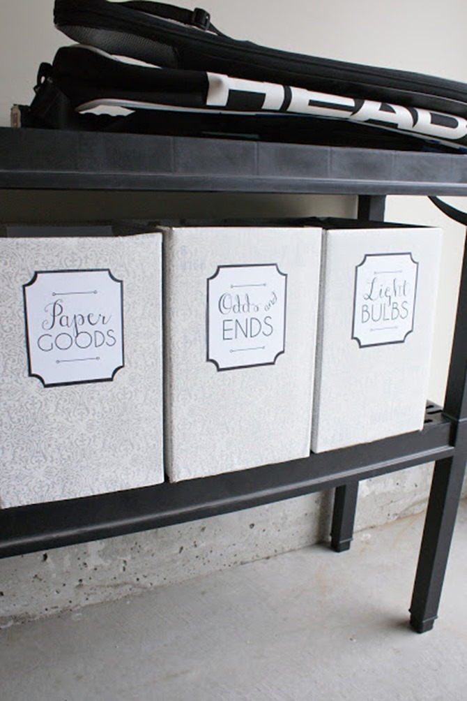7 Free Printable Labels to Organize Your Home - Garage - Everything Etsy