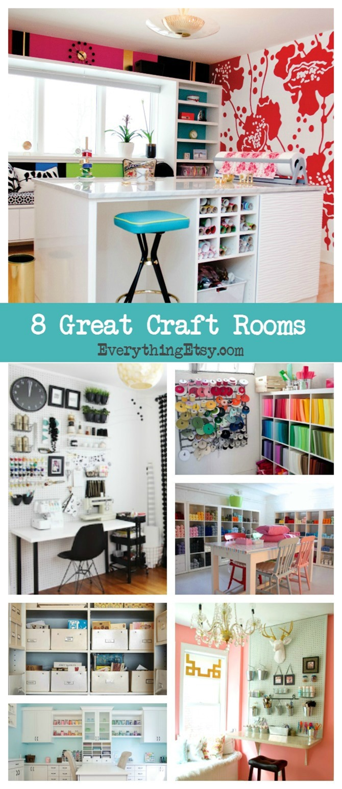 8 Craft Rooms That Inspire - EverythingEtsy
