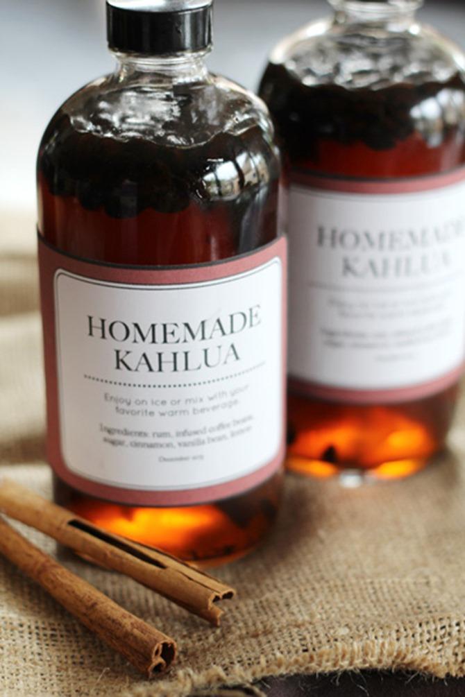 Boozy Handmade Gifts - Kahlua