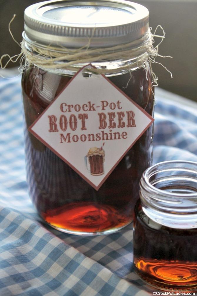 Boozy Handmade Gifts - Root Beer Moonshine