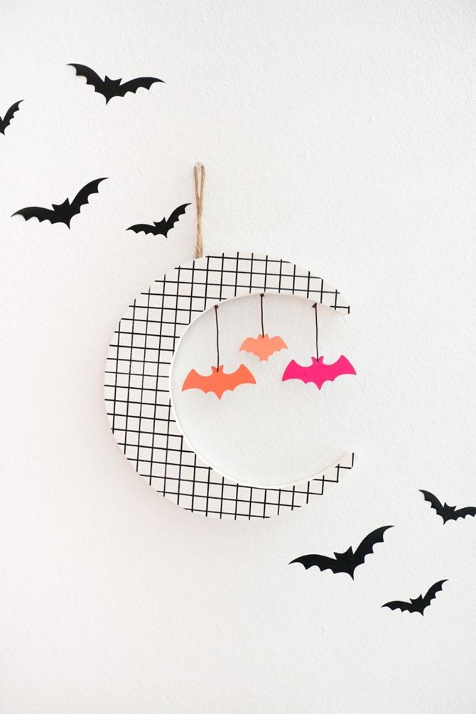 DIY Bat Decorations - Halloween Inspiration, Tutorials and Fun Ideas - Retro
