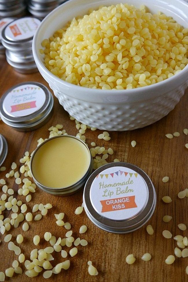 DIY Lip Balm Recipe - Free Printable Label - Handmade Gift Idea on Everything Etsy