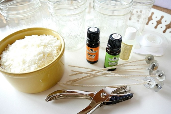 DIY Soy Candles - Easy Handmade Gift Tutorial on Everything Etsy