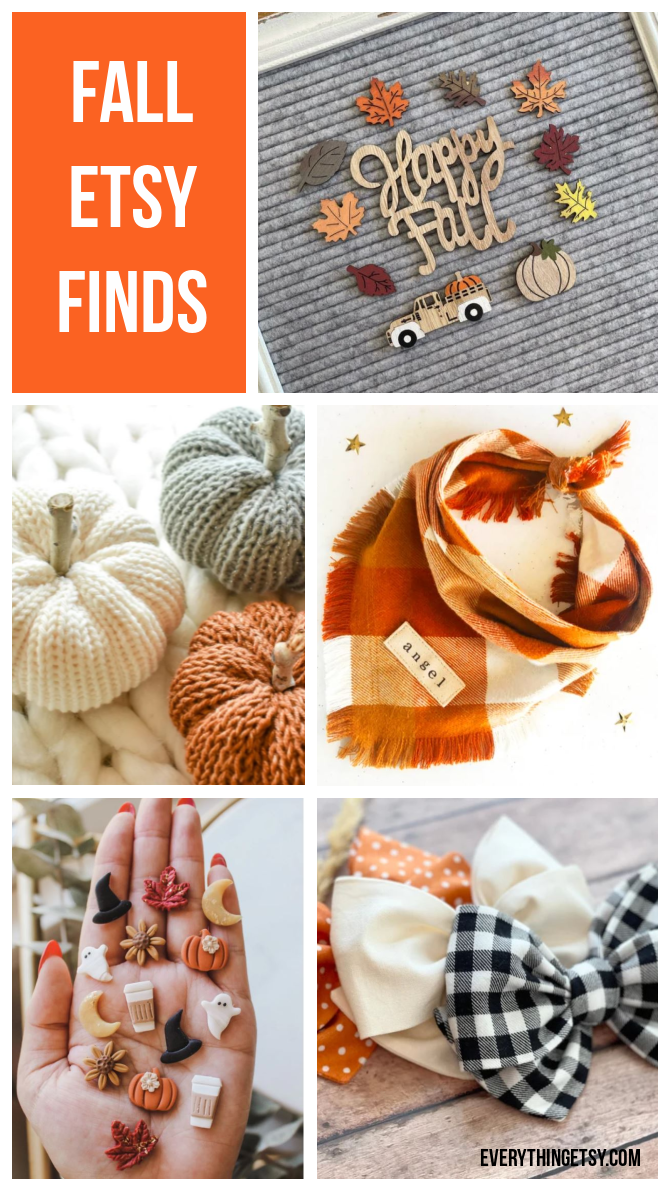 Fall Etsy Finds - Handmade Goodness!  EverythingEtsy.com
