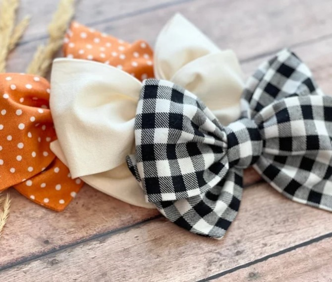 Fall Hair Bows - Etsy Finds - Everything Etsy