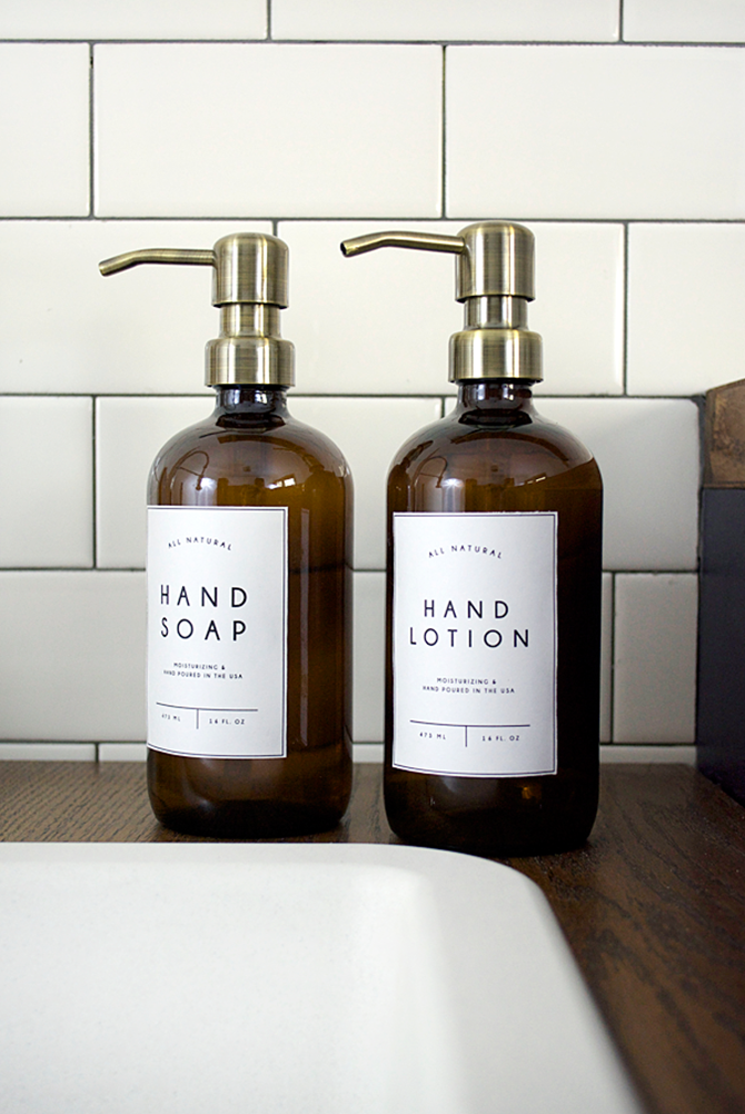 Free Printable Label to Organize Your Home - Laundry