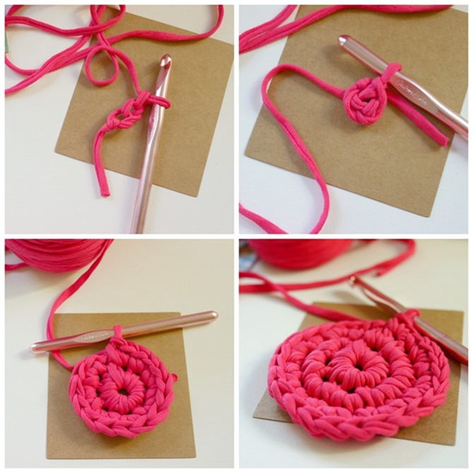 How to make a crochet basket - free pattern on Everything Etsy