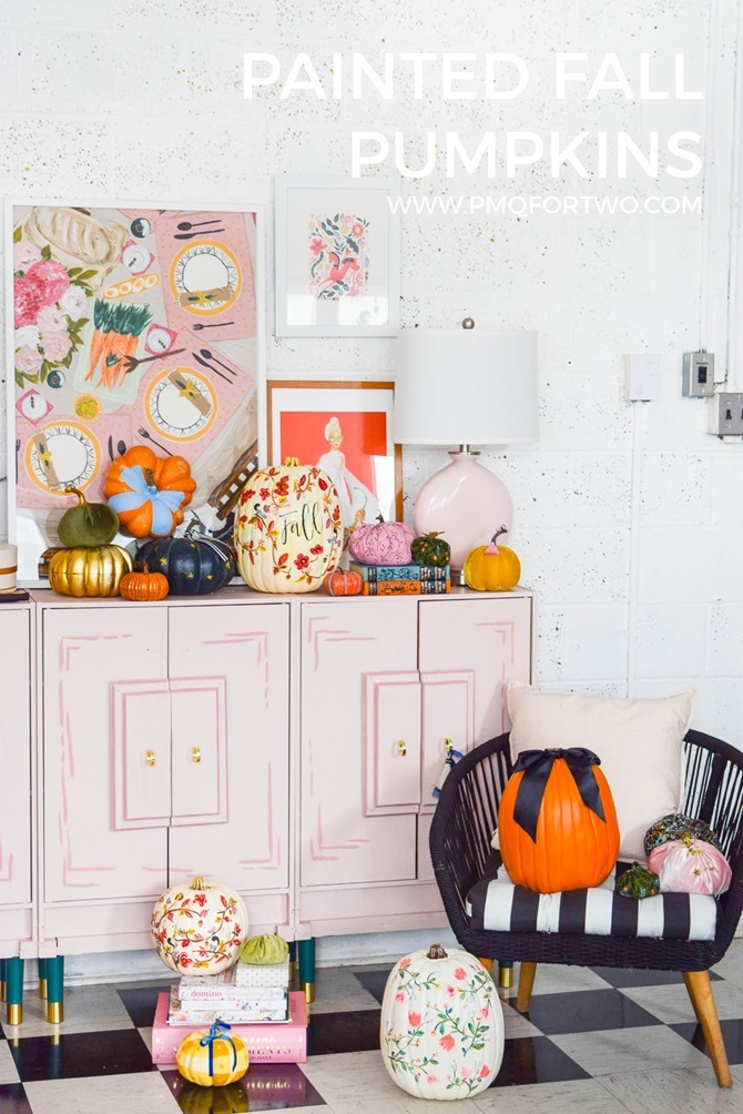 Painted Pumpkin Inspiration - PMQ for Two