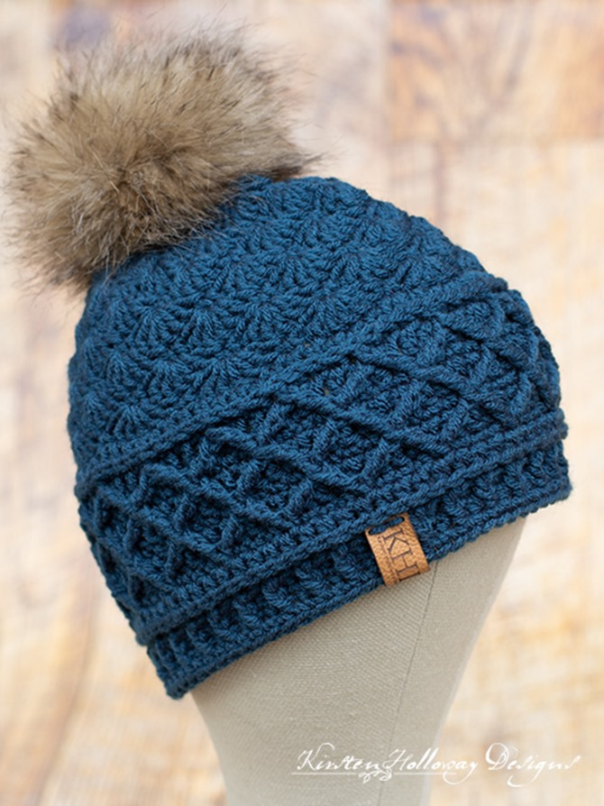 Quick Snow Country Crochet Hat - Free Design
