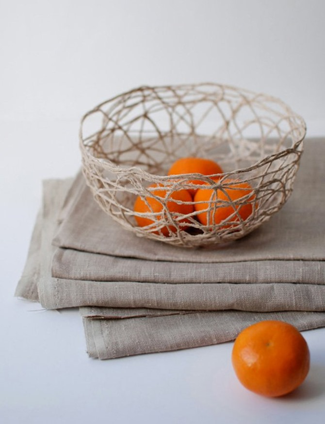 DIY String Bowl - Easy Craft Idea - Everything Etsy